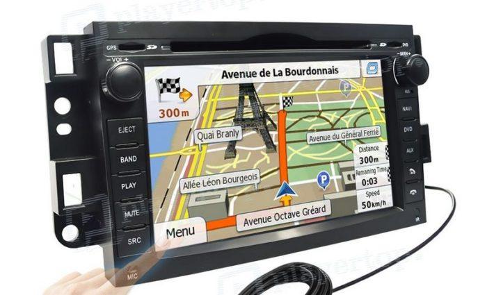 GPS voiture