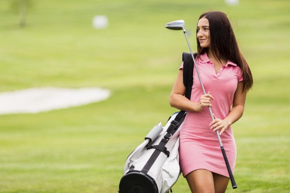 golfeuse debutante